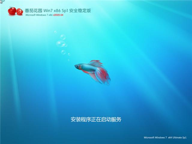 番茄家园ghost win7 sp1 32位旗舰安装版 v2020.04(免激活)