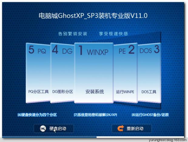 【老机有福】电脑城GhostXP_SP3快速装机版V11.0_2013.12