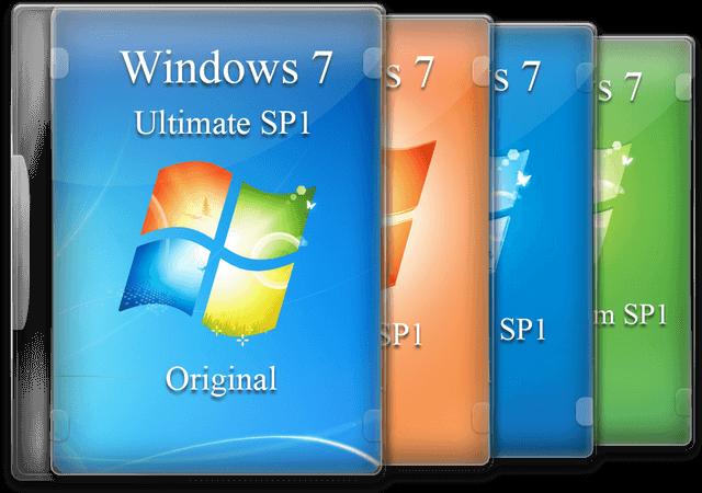 Windows 7 SP1 X64 多合一完整ISO光盘 2020版