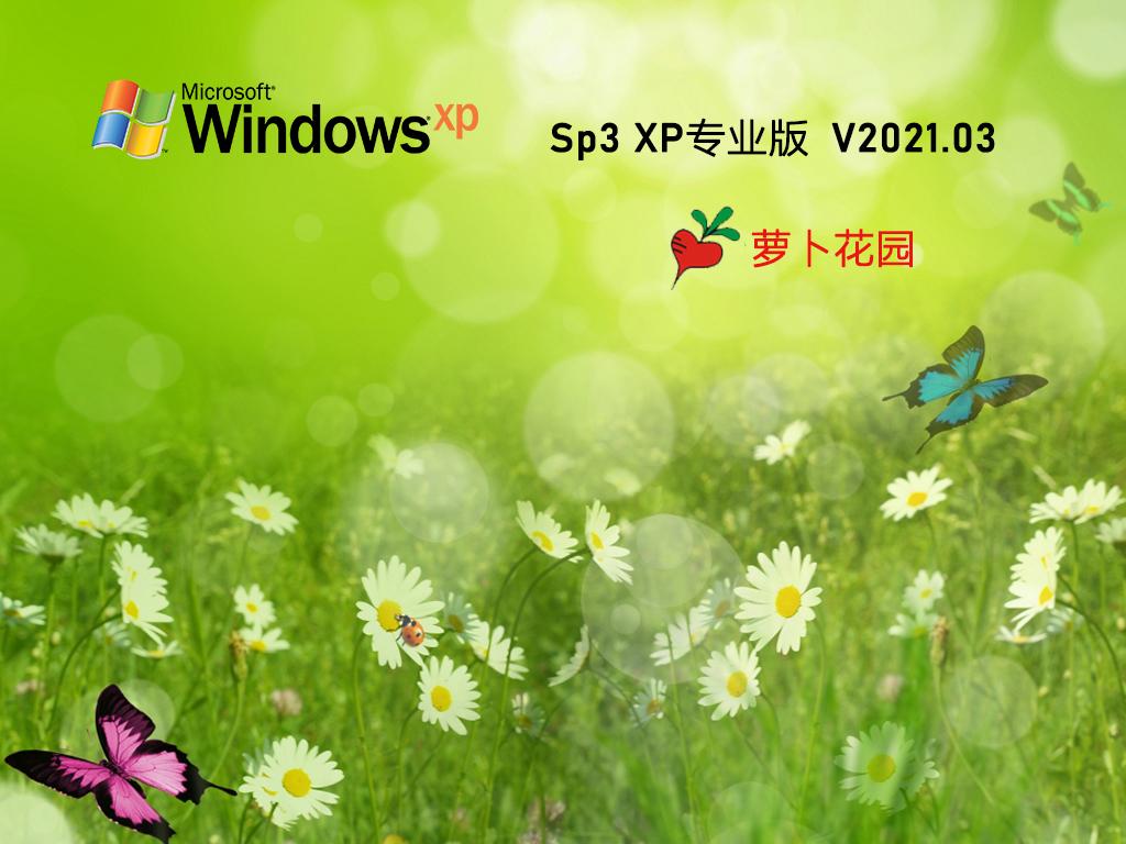 新萝卜家园 Ghost XP SP3 装机版 202103