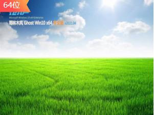 雨林木风Ghost Win10 多驱动纯净版x64 v0413