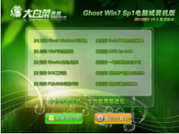 大白菜Ghost win7 sp1 X86电脑城装机版V0428(2021.4月最新版)