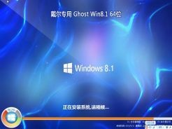 戴尔DELL笔记本专用Ghost Win8.1 64位安装版 V0519下载