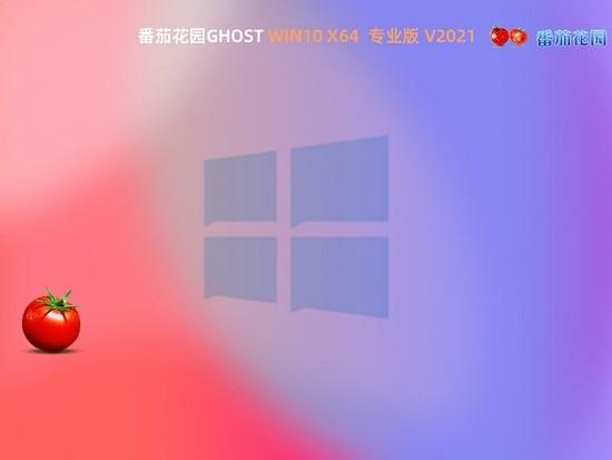 番茄花园Ghost Win10 64位 安全专业版 v0618